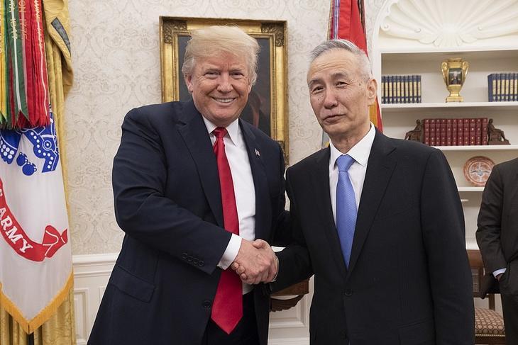 Trump og Liu Hei