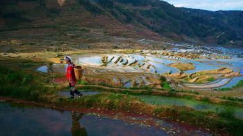 Kinesisk kulturlandskap - iStock.