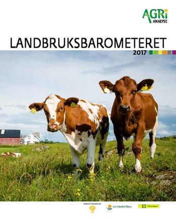 Landbruksbarometeret 2017 forside to kuer